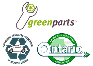 Green Parts, Automotive Recyclers Association of Atlantic Canada, Automotive Recyclers Association of Ontario